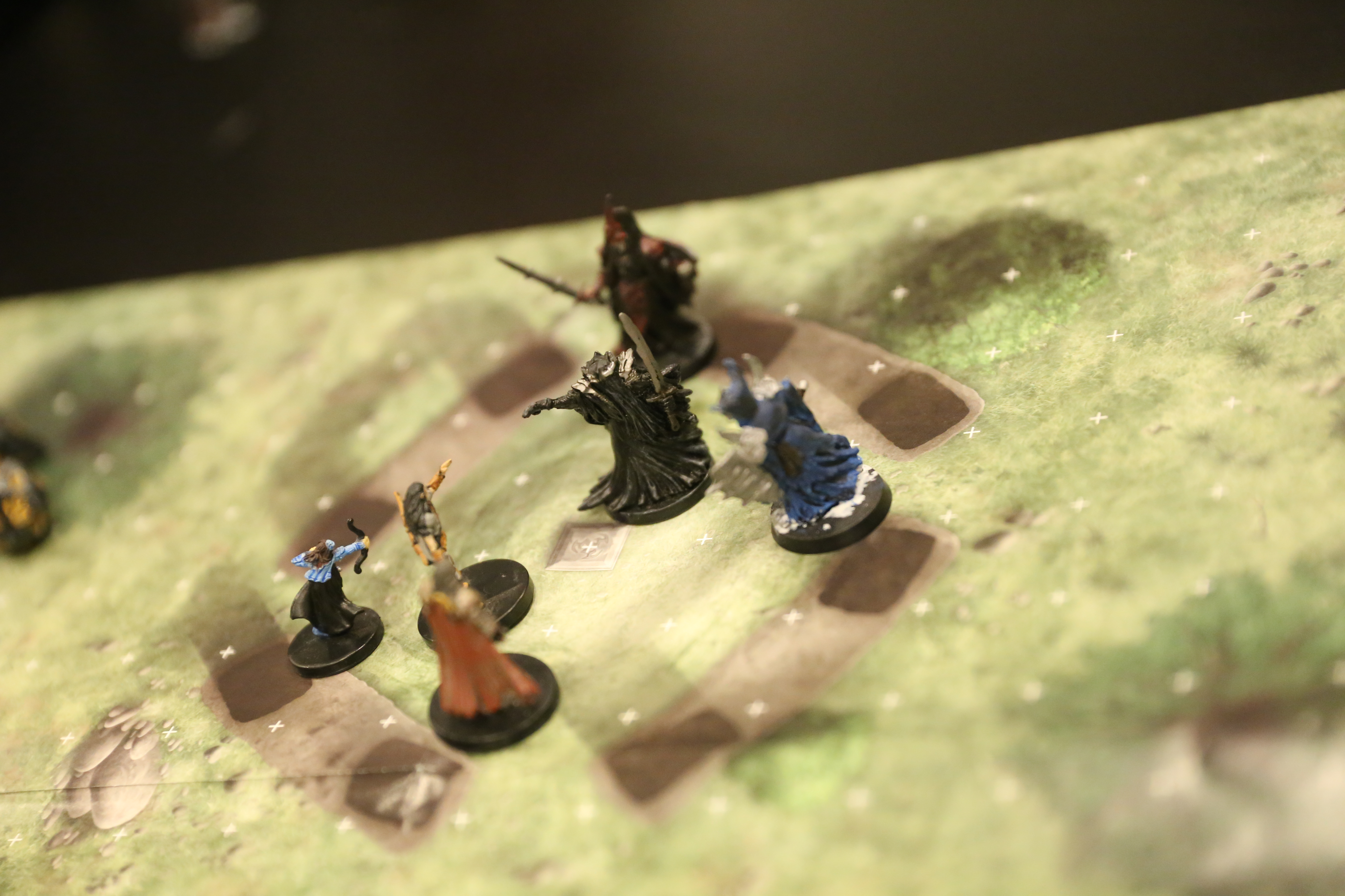 Dungeons & Dragons wraith miniatures